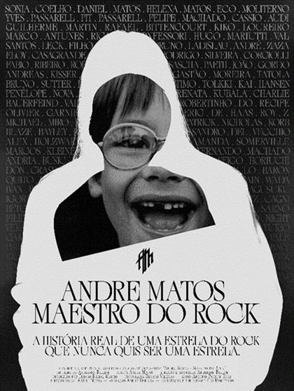 ''Cinemark terá sessões do filme Andre Matos - Maestro do Rock''