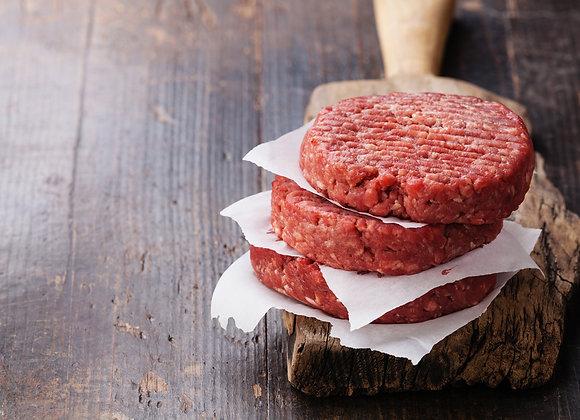 Hamburger Patties - package of 3x 1/3 lb Patties  Item# CT2