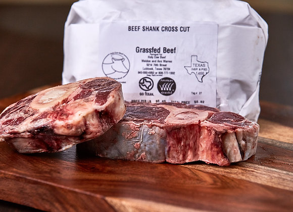 Meaty Shank Soup Bones (per lb)