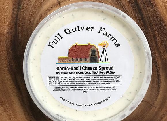Garlic Basil Cheese Spread