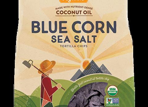 Blue Corn with Sea Salt Tortilla Chips, Organic