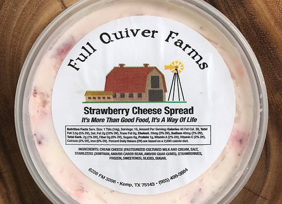 Strawberry Cheese Spread
