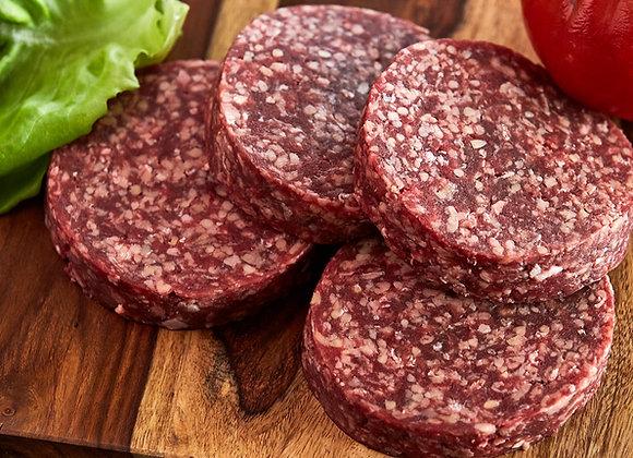 Ground beef Patties 4/Pkg (per lb)