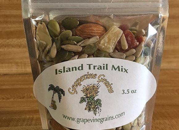 Island Trail Mix- 3.5 oz.