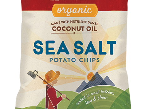 Organic Sea Salt Potato Chips, Non- GMO