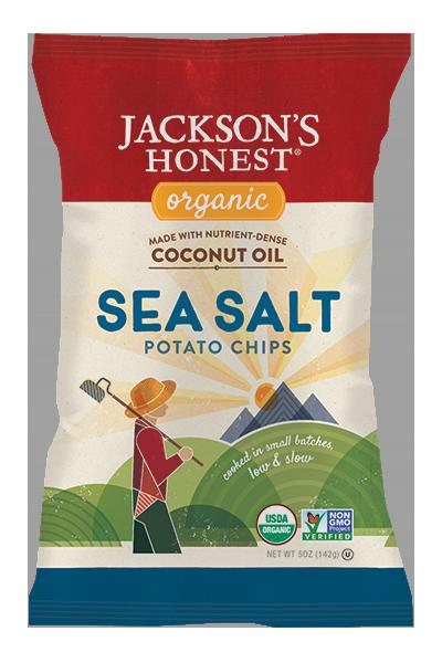 Organic Sea Salt Potato Chips, Non- GMO