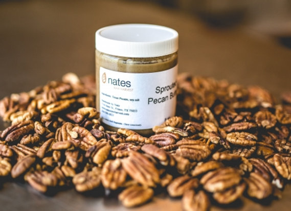 Sprouted French Toast Pecan Butter