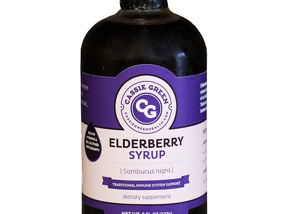Elderberry Syrup- 8 oz.- SOLD OUT