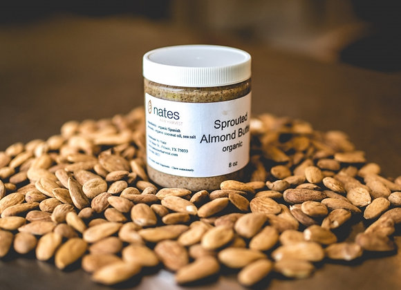 Sprouted Organic Almond Butter