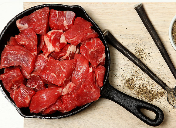 Stew Meat, 1 lb.  Item# CT5