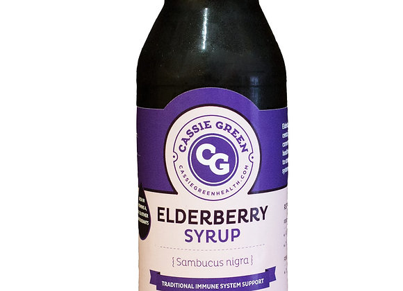 Elderberry Syrup- 12 oz