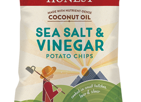 Salt and Vinegar Potato Chips, Non- GMO