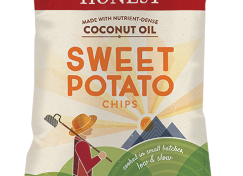 Sweet Potato Chips, Non- GMO