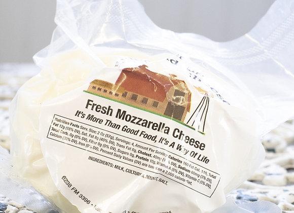 Fresh Mozzarella- (per .5 lb)