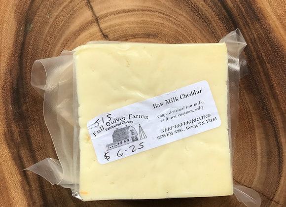 Raw Milk Cheddar, (per .5 lb.)