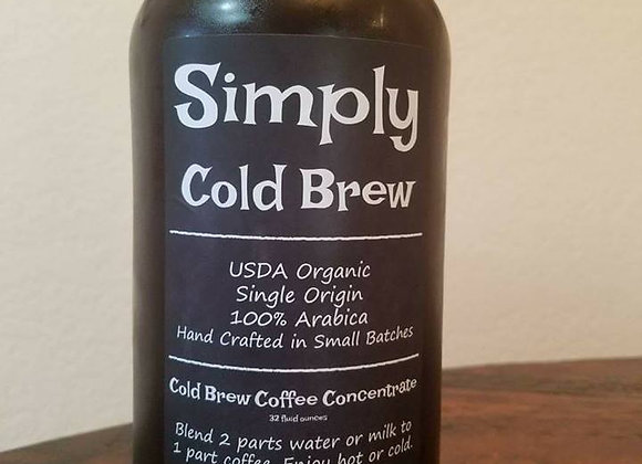 Cold Brew Coffee Concentrate- Regular