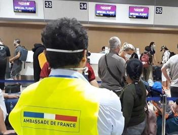 Rapatriement des Français : la bonne gestion du cas philippin.