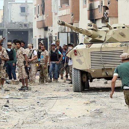 Que se passe-t-il en Lybie ?