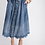 Thumbnail: Button Front Chambray Midi Skirt