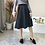 Thumbnail: Suede Flirty Skirt [BLACK]