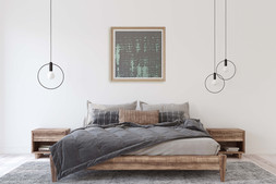Textile wall hangings