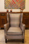 Upholstery fabric for Vintage armchair (