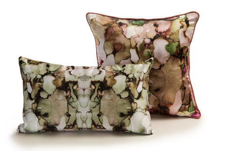 Printed pillows - watercolor collection