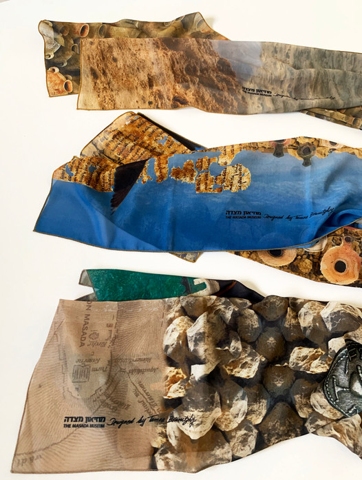 Scarves for Masada museum