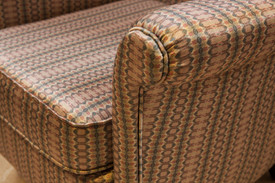 Upholstery fabric for Vintage armchair