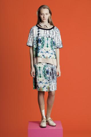 Textile Design for Comme Il Faute 2012-3