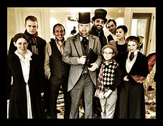 Christmas Carol Cast Photo California Shakespeare Ensemble