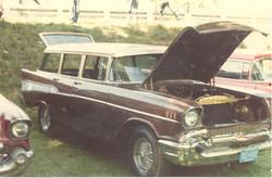 57 Chevy wagon