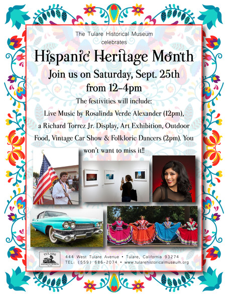 THM Celebrates Hispanic Heritage Month with Live Music, Dancers, and a Vintage Car Show!!
