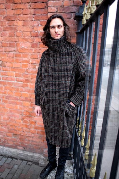Пальто мужское оверсайз
