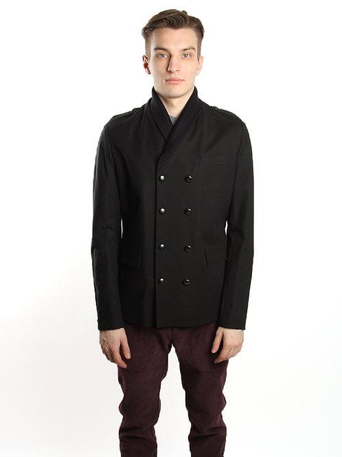 Куртка двубортная  из хлопка