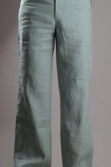 брюки мужские летние льняные