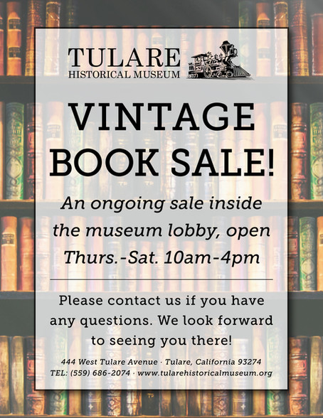 Ongoing THM Vintage Book Sale!!