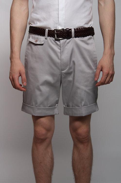 шорты мужские светло-серые