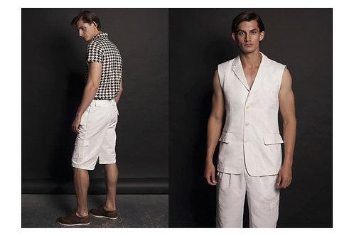 шорты мужские белые