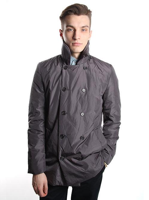 Двубортная куртка из плащевки