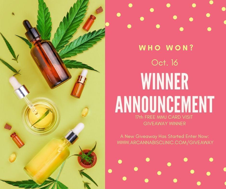 Win a Free Marijuana Card