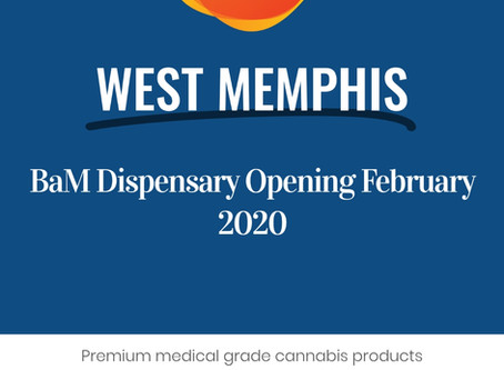Body and Mind West Memphis dispensary opening in Feb!