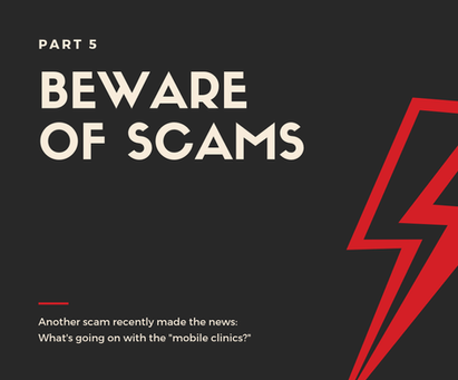 Beware of Scams, Part 5
