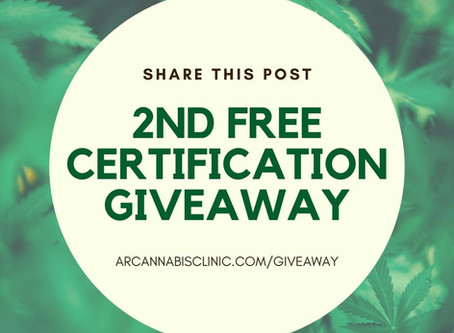 SECOND FREE CERTIFICATION GIVEAWAY ($250 Value)!