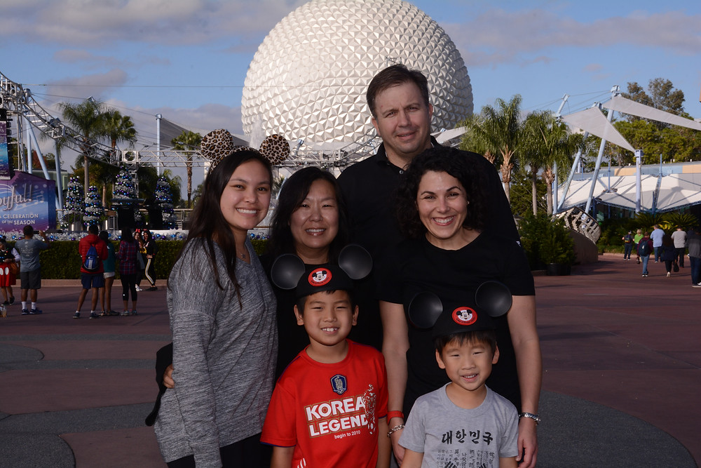 Epcot with friends from KAAN in December 2018