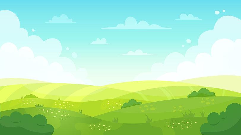bigstock-Cartoon-Meadow-Landscape-Summ-3