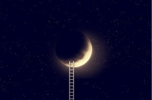Ladder to the moon.
