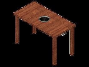 テーブル埋込型 電気無煙ロースター