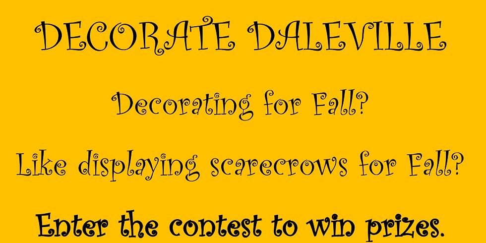 Scarecrow Festival Decoration Contest