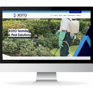 Xoto termite and pest solutions website